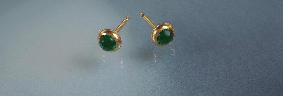 Ohrstecker Smaragd