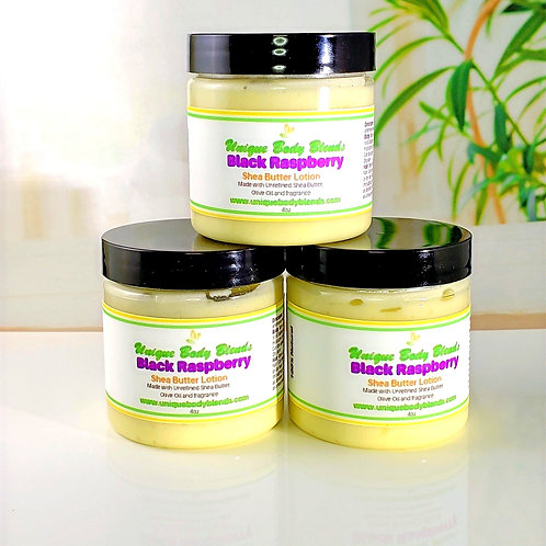 Black Raspberry Shea Butter Lotion