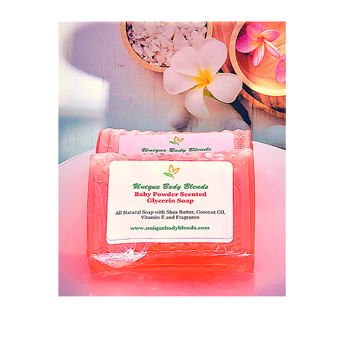 Baby Powder Scented Soap