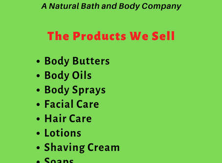 Some Of The Products That We Sell