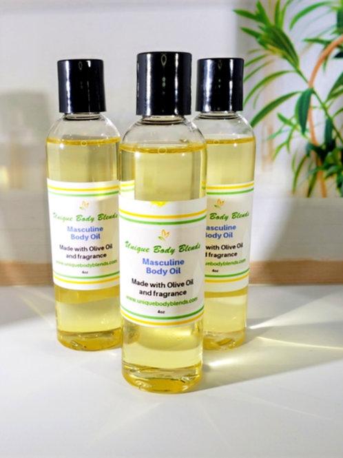 Masculine Body Oil