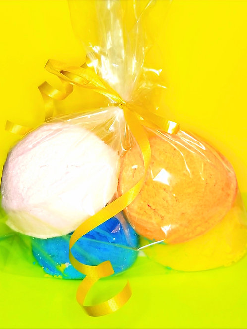 Fruity Bubble Scoops