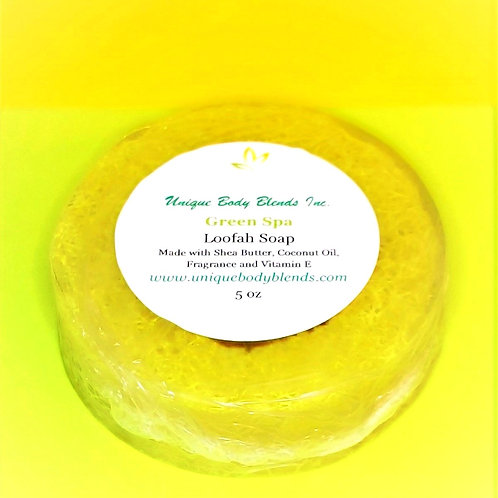Green Spa Loofah Soap