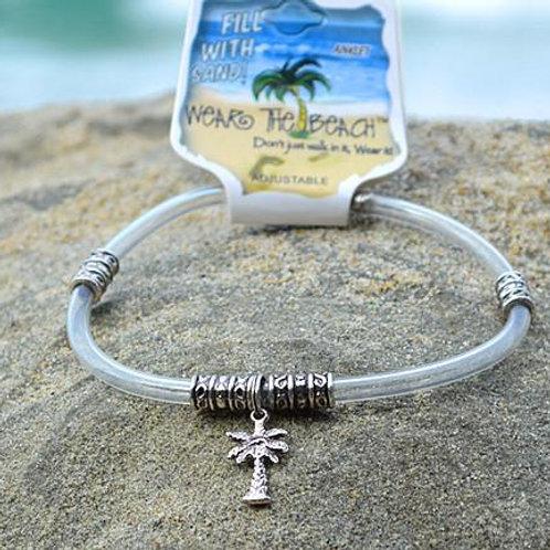 Palm Tree Charm Anklet Ankle Bracelet