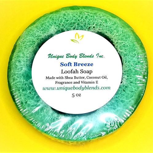Soft Breeze Loofah Soap