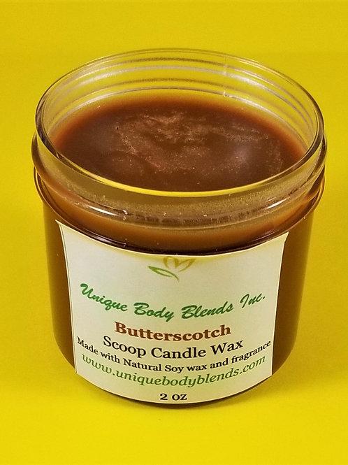 Butterscotch Scoop Wax