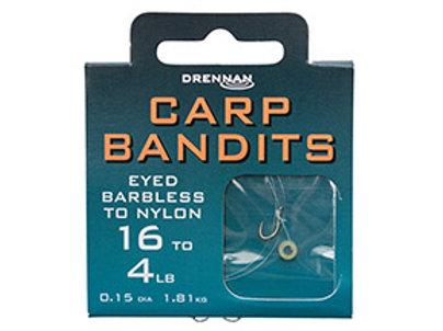 Carp Bandits Barbless to Nylon