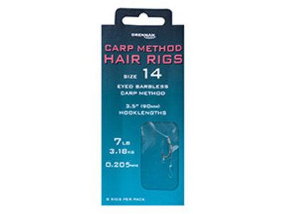 Carp Method Hair rigs