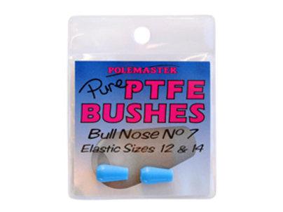 100% Pure PTFE Super Slip Bushes Bull Nose