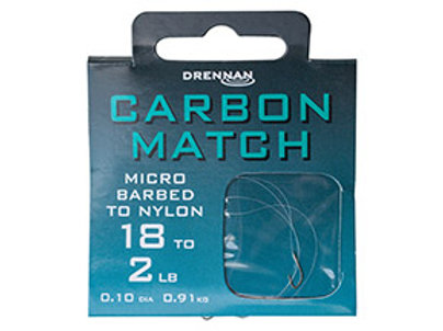 Carbon Match Hooks to Nylon