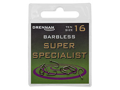 Barbless Super Specialist Eyed Hook