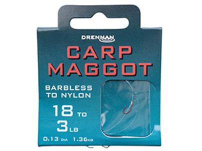Carp Maggot Barbless to Nylon