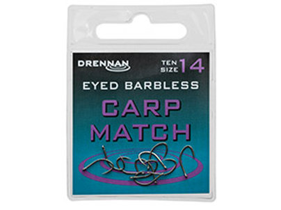 Eyed Barbless Carp Match