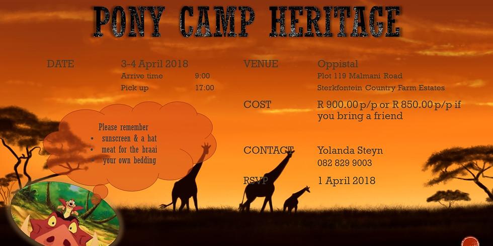 Pony Camp Heritage