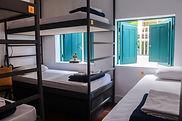dormirtório de hostel no rio