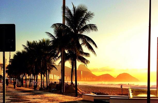 Praia de Copacabana -10min