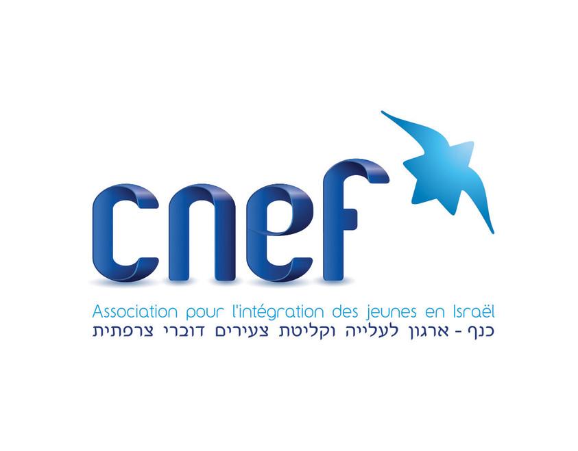 CNEF LOGO designed by WE DESIGN BRANDING