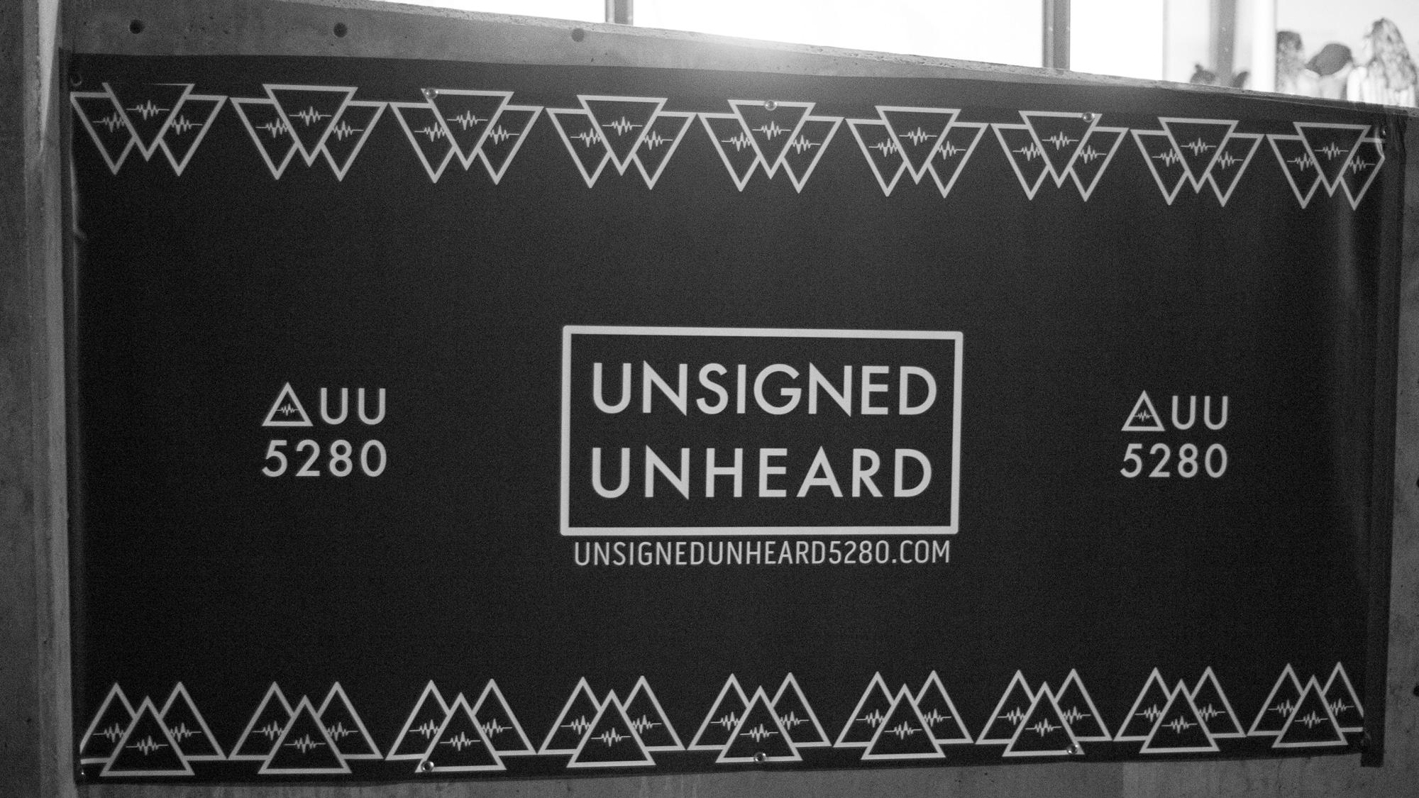 Unsigned Unheard 5280 Banner