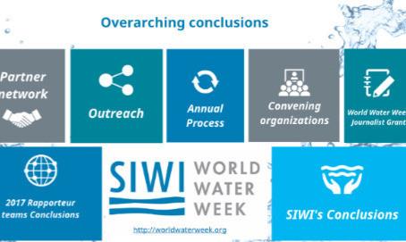 Mach mit: World Water Week