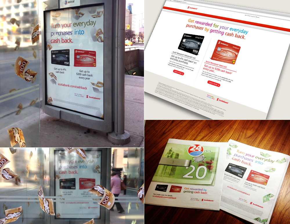 Scotiabank – Cash Back Campaign