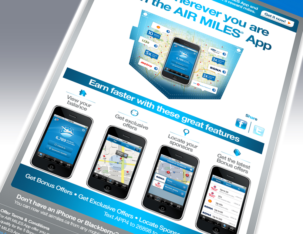 Air Miles – Earn on the go