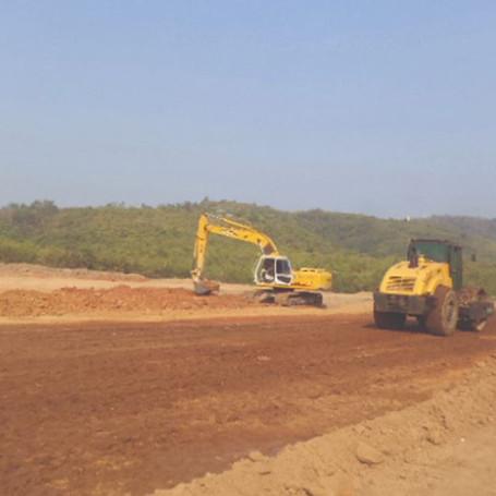 Earth Work In Myamar