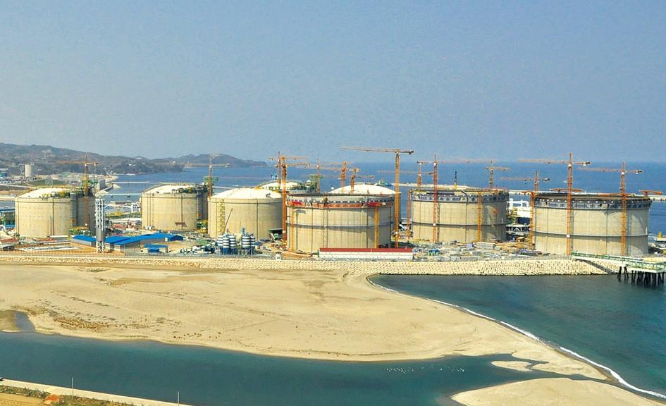 Samchuck LNG Farm