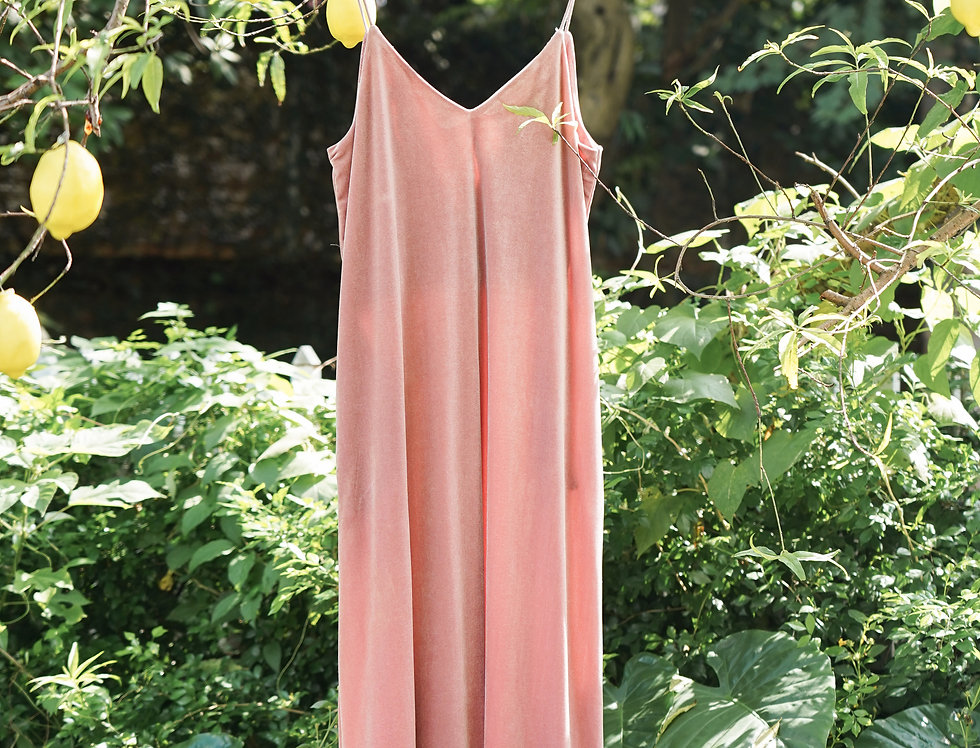 Thii Velvet Dress (Pink)