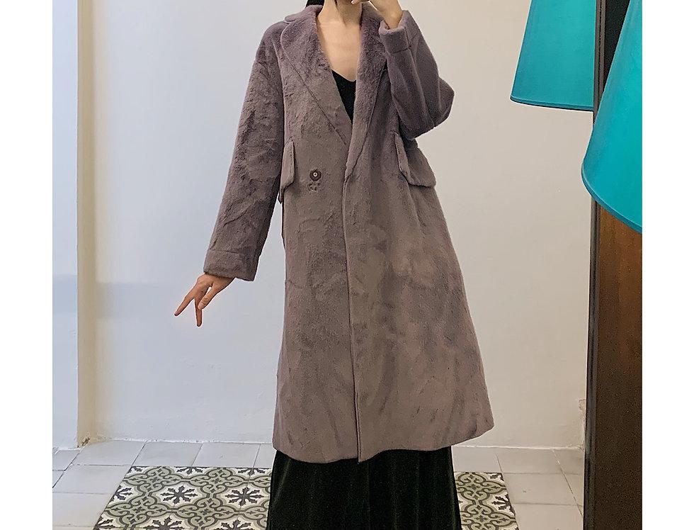 Kena Overcoat (Violet)