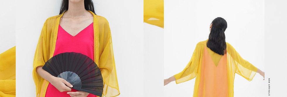 Oriel Kimono - Yellow