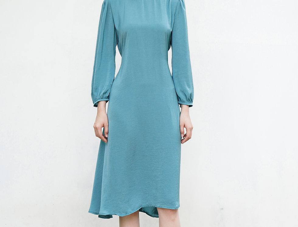 Loire Dress (Blue)