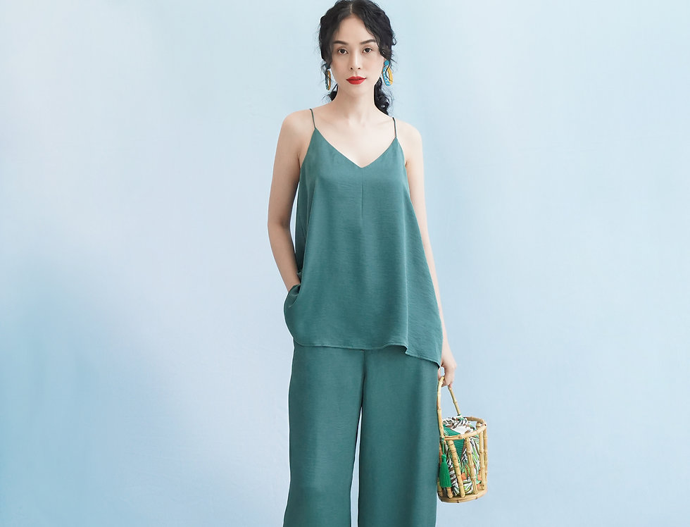 Nancy 2 Pants (Light Green)
