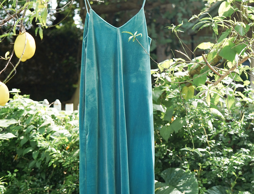 Thii Velvet Dress (Blue)