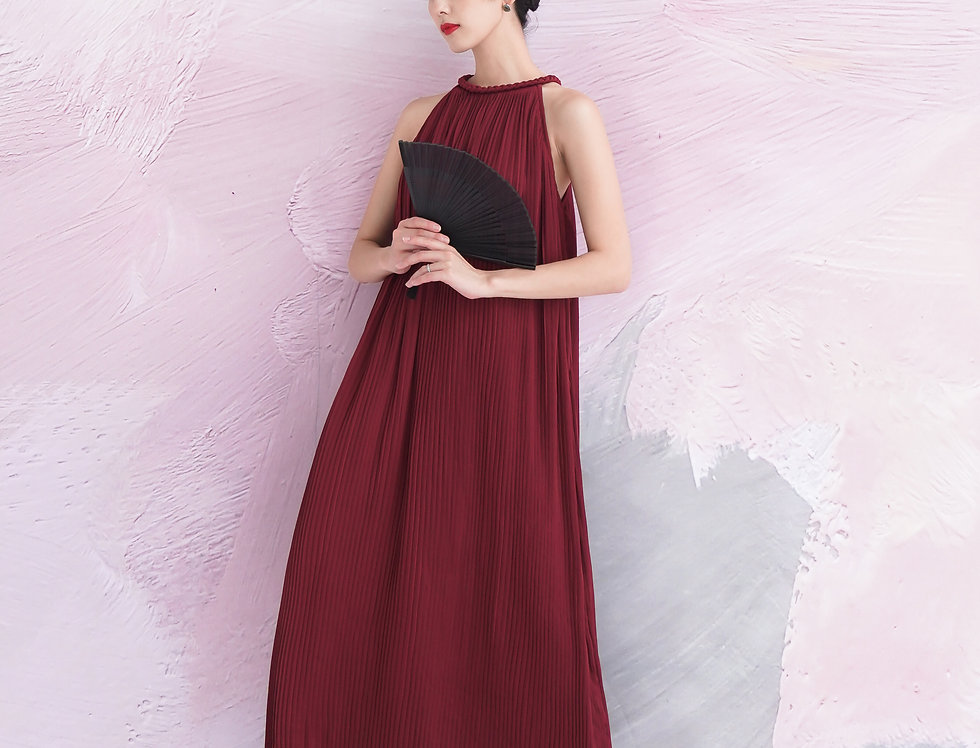 Karen Dress (Dark Red)