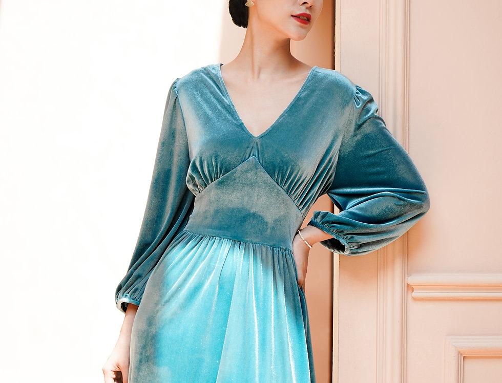 Jamie Velvet Dress