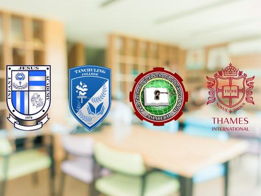 Meet Edusuite's 4 New School Partners!