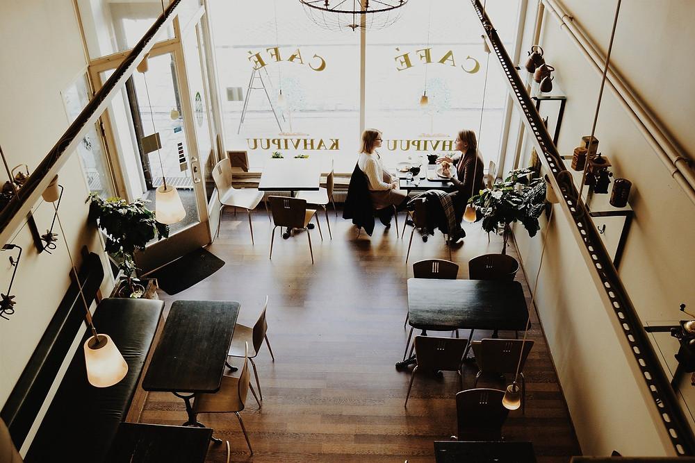cafe arquitetura psicologia espaço
