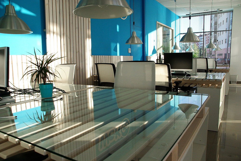 escritorio cor psicologia arquitetura