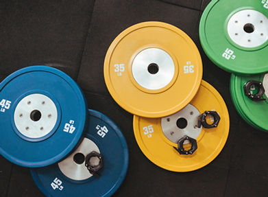 Colorful Weights Gym