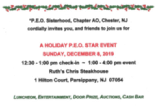 Chapter AO 2019 Holiday PEO Star Event_B