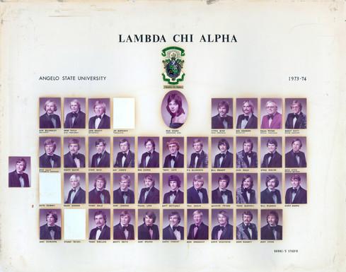 LAMBDA CHI ALPHA 1973-74