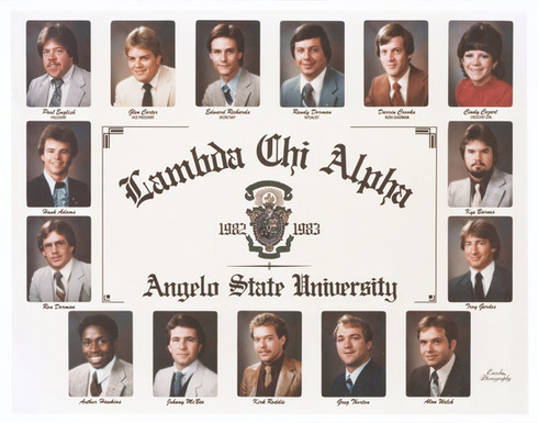LAMBDA CHI ALPHA 1982-83