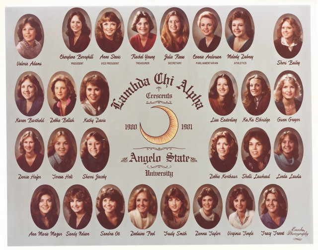Lambda Chi Alpha Crescents 1980-81