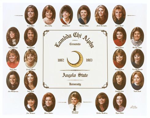 Lambda Chi Alpha Crescents 1982-83