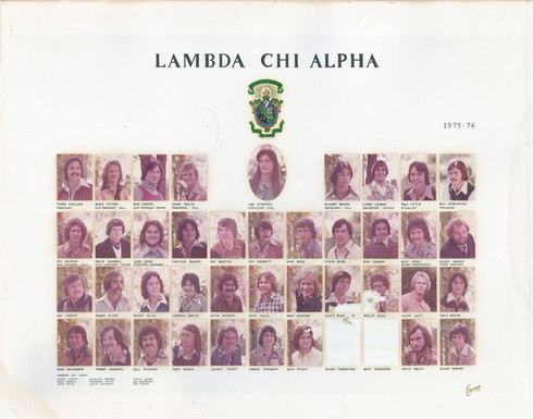 LAMBDA CHI ALPHA 1975-76