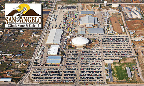 SAN ANGELO STOCK SHOW AND RODEO AERIAL