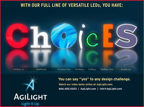 Agilight webpage
