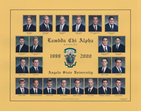 LAMBDA CHI ALPHA 1999-00