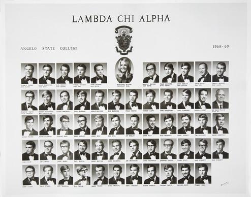 LAMBDA CHI ALPHA1968-69