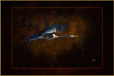 HERON IN FLIGHT_0101_PAINTED_MAT-BORDER.